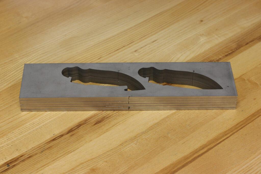 Knife blade blank