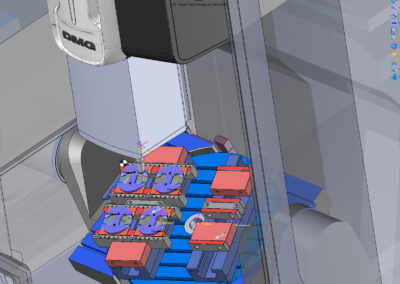 Topsolid 5-axis machine simulation