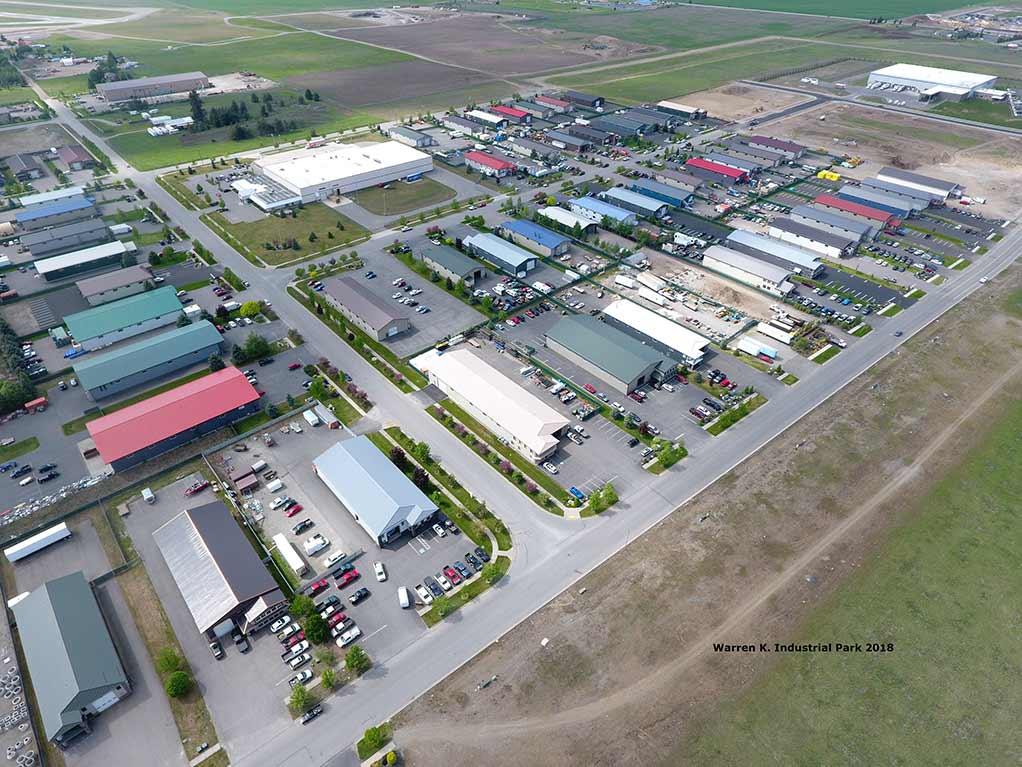 Warren K. Industrial park Drone photo 2018